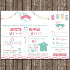 faire-part-mariage-pastel-programme-fannions-lanternes-logos-vintage-chic