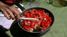 OSU Extension food specialist, Barbara Brown, introduces us to the slow food movement and prepares an authentic Italian tomato sauce.