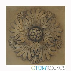 floral, reliefs, medallion, design, Tony Koukos, Koukos, art, photography, Europe