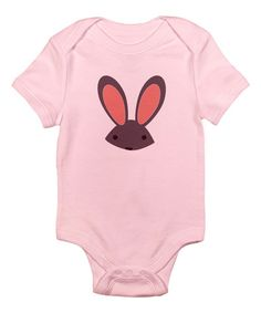 Look at this CafePress Pink Bunny Bodysuit - Infant on #zulily today!