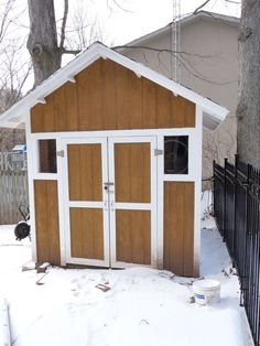 Diy Storage Shed.  Step by step with pictures