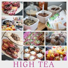 Sfeer impressie high tea