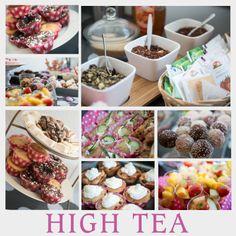 Sfeer impressie high tea