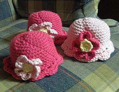 Ravelry: Crochet Preemie Windowpane Skull Cap pattern by Rebecca Craig (aka LullabyLamb)