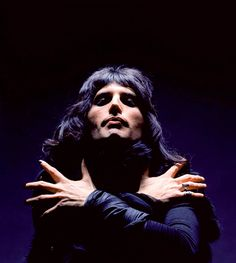 Freddie Mercury, from sessions for the cover of Queen II, London 1974, by Mick Rock