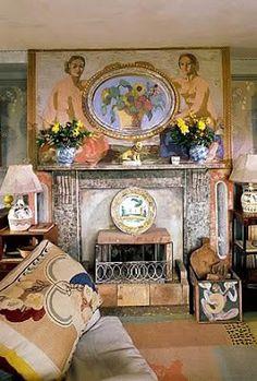 Vanessa Bell's Charleston House, uncredited