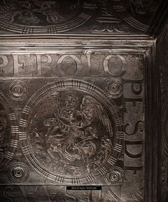 EUCHARISTIC URN  Year 1579 Chased and engraved silver 465 cm. x 520 cm. x 335 cm. Metropolitan Cathedral of Santo Domingo