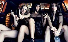 :) Kristin Wiig, Maya Rudolph, Tina Fey