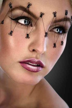 #makeup #texture #mask