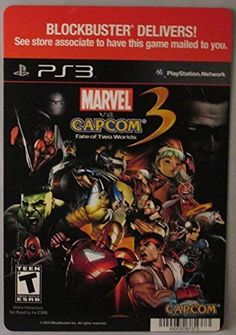 Capcom 3 Fate of Two Worlds for sale online Ps3 For Sale, Marvel Vs, Videogames, World, Space, Ebay, Floor Space, Video Games, The World