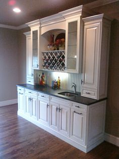 kitchen cabinet buffet contemporary chairs basement snack bar design ideas, pictures, remodel, and ...