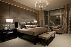 Luxury Master Bedroom, like everything except for the chandelier.
