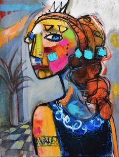"Saatchi Art Artist Allen Wittert; Painting, ""Turning heads"" #art"