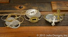 Wheaton Set C #juliodesigns #handmadejewelry #vintage