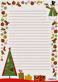 """""""Just Another Christmas"""" Christmas Frames, Christmas Paper, Merry Christmas, Christmas Cards, Christmas Clipart, Christmas Printables, Lined Writing Paper, Writing Papers, Free Printable Stationery"""