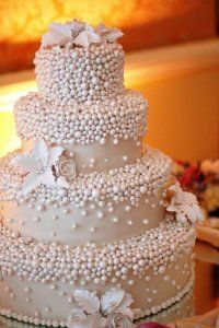 Pearl cake.