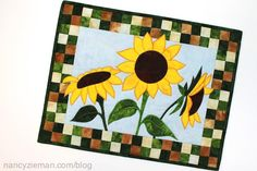 Checkerboard Quilt Borders with Sewing With Nancy/NancyZieman | Nancy Zieman Blog