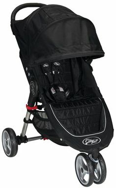 Baby Jogger City Mini Single Stroller (2013) - BLACK
