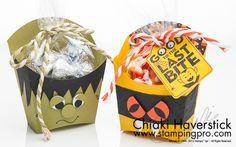Halloween French Fry Box