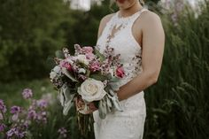 Lilac, Roses, Dusty Miller and Silver Dollar Eucalyptus Amanda Bradford, Lilac Roses, Dusty Miller, And So The Adventure Begins, Silver Dollar, Big Day, Floral Design, Bouquet, Bridal
