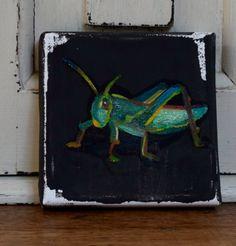 Little grasshopper by JJHowardFineArt on Etsy