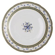Incredible, Marie Antoinette's China patterns are still in production! This is my favorite, made by Bernardaud, it was used in la petite trianon