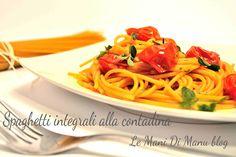 Spaghetti integrali alla contadina