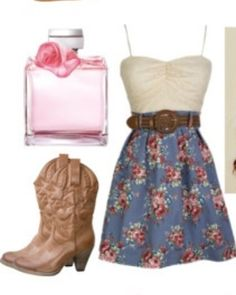 Country-Style Dress