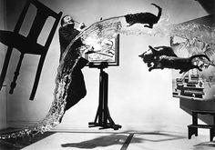 """""""Атомный Дали"""", Филипп Хальцман, 1948"""