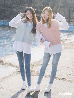 Korean Twin Look Fashion   Official Korean Fashion: