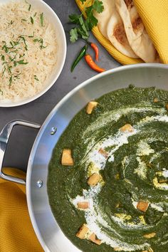 Talk about a stellar weeknight dinner! Be adventurous and try this easy-to-make recipe. Vegan Food, Vegan Vegetarian, Vegetarian Recipes, Go Veggie, Eastern Cuisine, Tofu Recipes, Easy Food To Make, Indian Dishes, Vegan Dinners