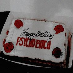 The bday cake my I'll-have-your-back-forever-bitch deserves. Red Aesthetic, Aesthetic Photo, Cheryl Blossom Aesthetic, Heather Chandler, Slytherin, I Am Awesome, Party, Cherry, Sweet