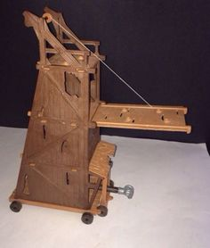 Playmobil Medieval Siege Tower and Battering Ram 3887 Draw Bridge Angriffsturm
