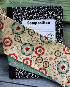 Fabric Notebook Cover..tutorial...
