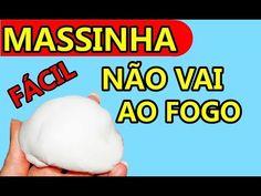 (88) COMO FAZER MASSA DE BISQUIT P MODELAR SEM IR AO FOGO/p criança fazer sozinha/MASSINHA Q ENDURECE - YouTube