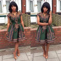 NOUVELLE robe de Dasmina par THEAFRICANSHOP sur Etsy