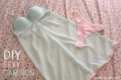 DIY, patrones, ropa de bebe y mucho más para coser.: DIY Sexy: Cómo hacer ropa interior para una noche especial.