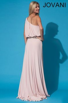 One shoulder Jovani gown