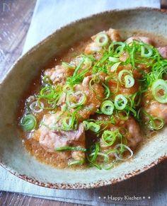 柔らか鶏肉の柚子胡椒おろし煮 by たっきーママ