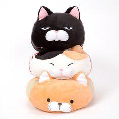 Tsumeru! Mochikko Hige Manjyu Cat Plush Collection (Big) 1