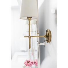 Startling Useful Ideas: Wall Sconces White Powder Rooms wall sconces living room restoration hardware.Wall Sconces Mirror Bathroom Lighting floral wall sconces home. Hallway Sconces, Bathroom Sconce Lighting, Sconces Living Room, Indoor Wall Sconces, Bathroom Wall Sconces, Outdoor Wall Sconce, Master Bathroom, Wall Sconce Bedroom, Hall Lighting