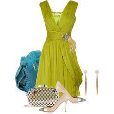 """The Drape Dress"" by lakegirl511 on Polyvore"