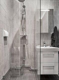 Inspiring apartment located in Stockholm, Sweden, designed by Stylingbolaget. Stockholm, Sink, Vanity, Interior, Sweden, Bathroom Ideas, Furniture, Bathrooms, Design