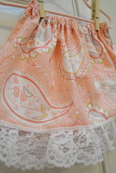 Cute and Easy Skirt Sewing Tutorial Via Making the World Cuter