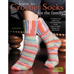 Making socks for loved ones is a tradition dating back hundreds of years. And crocheters can get in on the action and spread even more love with Learn to Crochet Socks for the Family! Crochet expert Darla Sims presents 15 cozy toe-warmers for the family and also teaches you how to design your own. There …