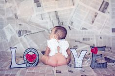 six month pictures, valentines day, angel wings, baby girl sixth month pictures, newspaper backdrop
