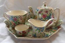 Royal Winton Queen Anne chintz Countess breakfast set 1934-41