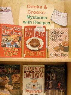 Cooks & Crooks Mysteries and Recipes by Calvert Library, via Flickr