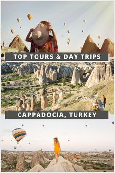 The Best Tours in Cappadocia Turkey || Best Excurions in Cappadocia || What to do in Cappadocia, Turkey || Hot Air Balloon, Cappadocia || Best Hot Air Balloon Tour in Cappadocia. Looking for some fun activities in Cappadocia? Check out our list of tours including a pink salt lake, quad bikes, hiking, underground city tours, photography tours, and, of course, hot air balloon rides! By Wandering Wheatleys (@wanderingwheatleys) #Cappadocia #Goreme #Turkey #HotAirBalloon #Travel #Tours #TravelGuide Top Travel Destinations, Europe Travel Guide, Asia Travel, Travel Guides, Travel Tours, Budget Travel, Top Tours, Visit Turkey, Underground Cities