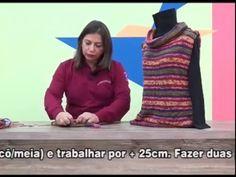 Tunica Nedy em trico com Cisne Vip por Cristina Amaduro